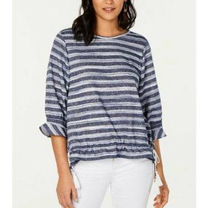 Style & Co Extra Large Knit Top Drawstring Waist
